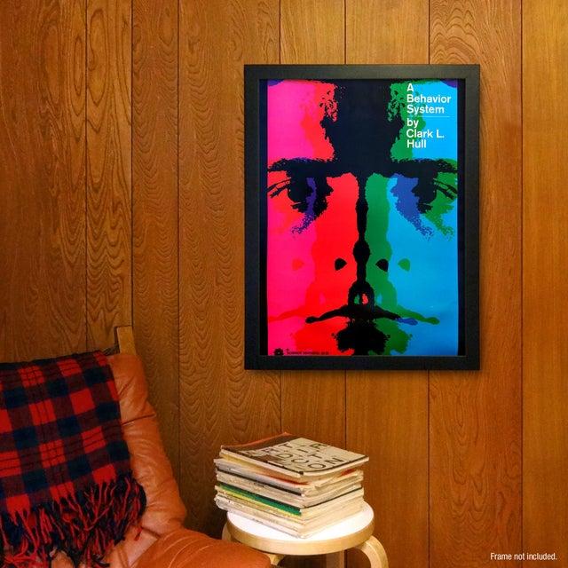 """A Behavior System"" Poster by Arnold Saks - Image 2 of 2"
