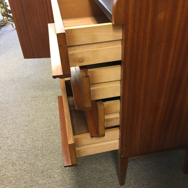 Modern Danish Style Teak Cabinet With Drop Front - Image 8 of 10