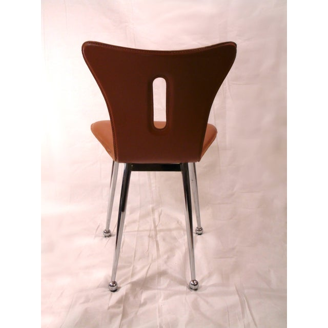 Arne Jacobsen Butterscotch Leather Chairs A Pair Chairish