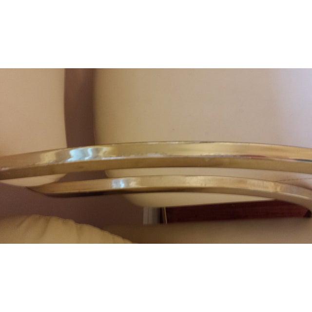Vintage Brass Cantilever Bar Stools - Set of 3 - Image 8 of 8