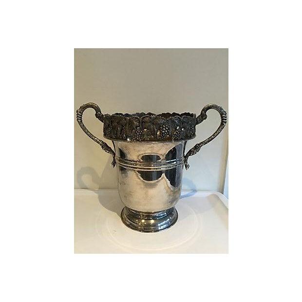 Ornate Silver Champagne Bucket Chairish