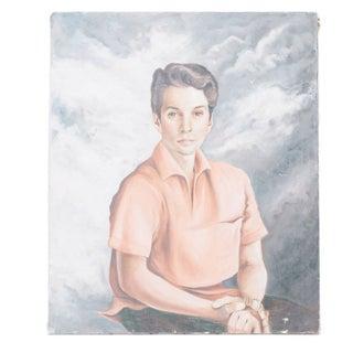Vintage Portrait of Young Boy