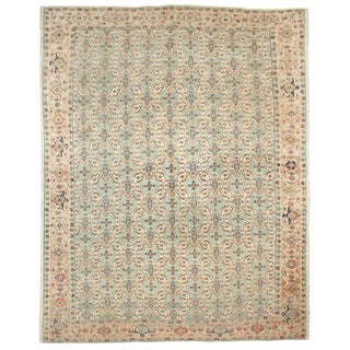 "Antique Mahal Rug - 9'2"" x 11'6"""