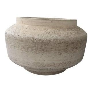 Large Mid-Century Ceramic Planter