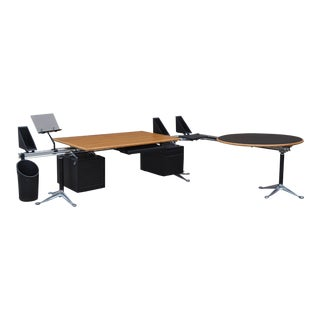 Bruce Burdick Executive Desk by Herman Miller