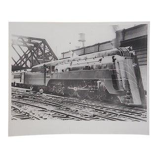Vintage Railroad Locomotive Photo