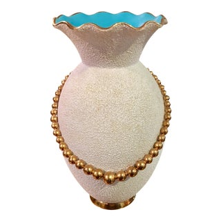 Italian Mid-Century Terracotta Textured Vase