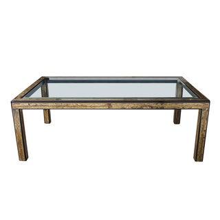 Bernhard Rohne Mastercraft Brass Dining Table