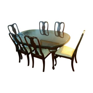 1970s Vintage Traditional Dining Set