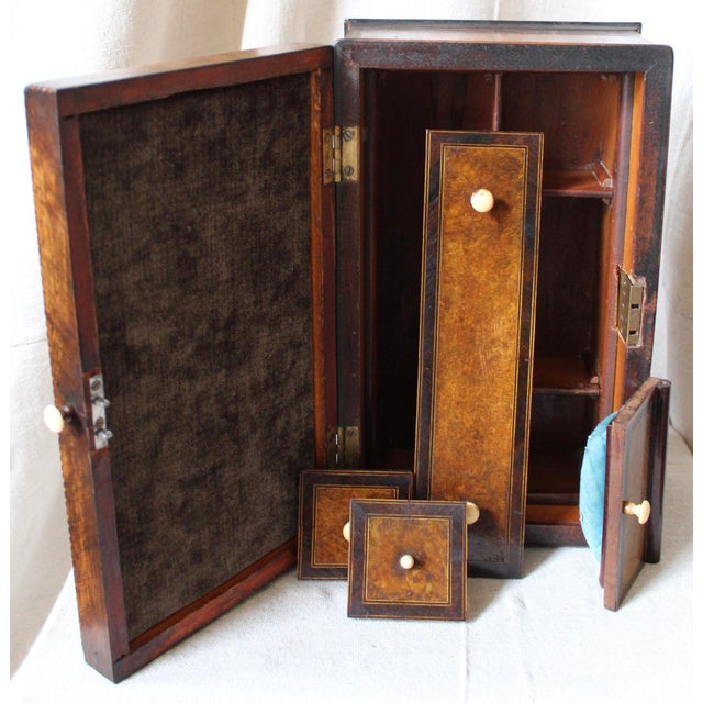 Tunbridge Ware Sewing Box - Image 7 of 9
