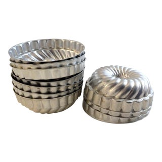 Vintage Aluminum Molds - Set of 10