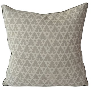 Quadrille Volpi Gray Pillow