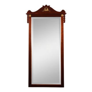 1940s Regency Mahogany Gilt Mirror