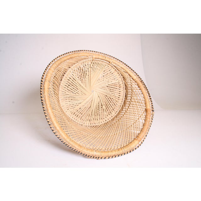 Vintage Boho Chic Wicker Pod Chair - Image 10 of 11