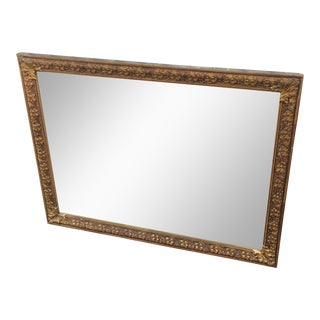Vintage Gold Gilt Wood Mirror