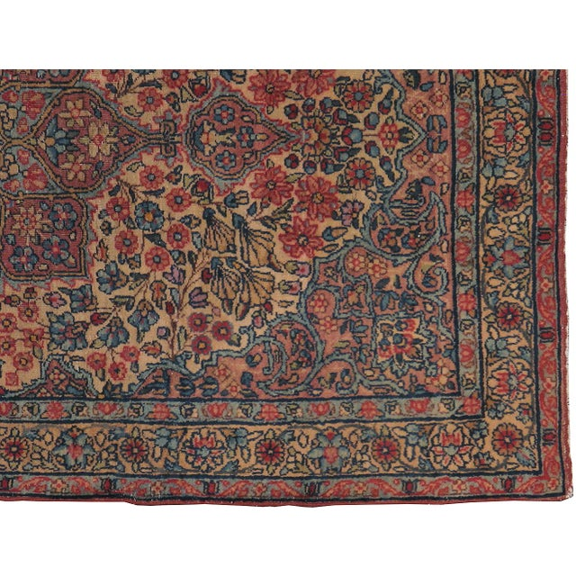 "Image of Antique Persian Kerman Rug - 2'11"" x 5'0"""