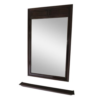 Wall Mirror With Matching Display Ledge
