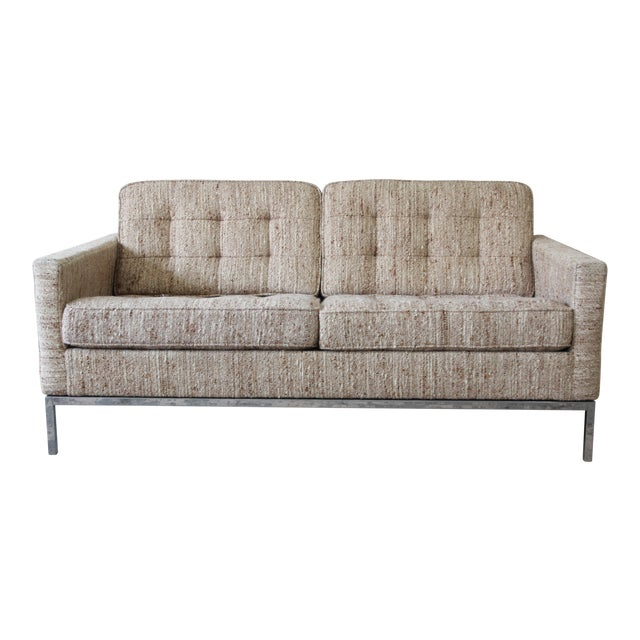 Florence Knoll Loveseat Sofa for Knoll International, 1977 - Image 1 of 11