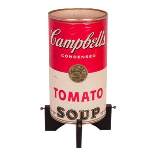 Campbell's Soup Can Lamp