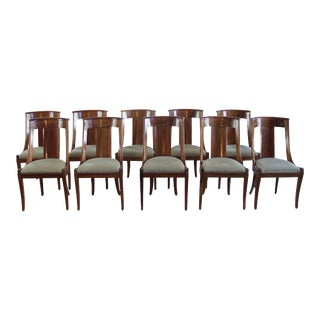 Vintage Empire Chairs - Set of 10