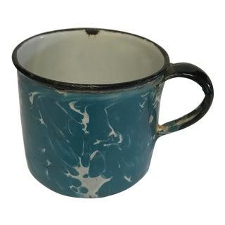 Vintage Enamel Marble Mug