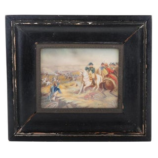 Napoleon 19th Century Miniature Painting
