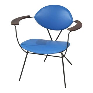 Blue Joseph Cicchelli Chair for Reilly Wolf