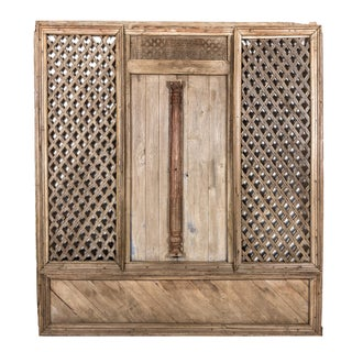 Indian Lattice Teak Door