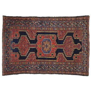 Antique Persian Hamadan Rug - 4′4″ × 6′6″