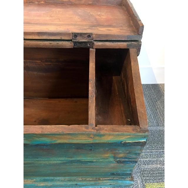 Antique Child's School Desk Box - Image 3 of 7