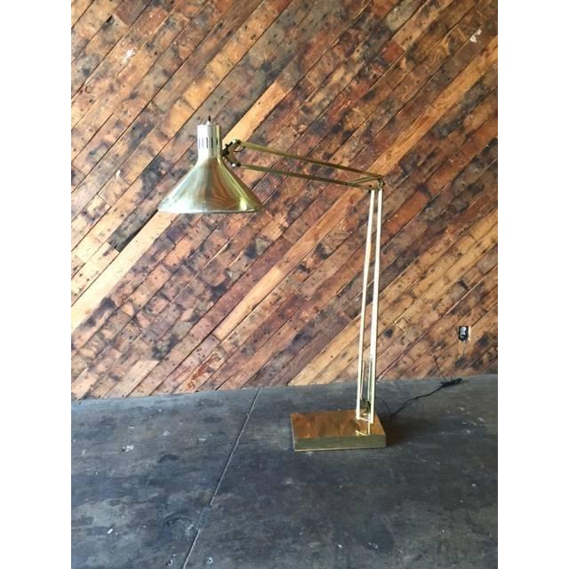 Vintage Oversize Architect's Task Lamp - Image 5 of 6