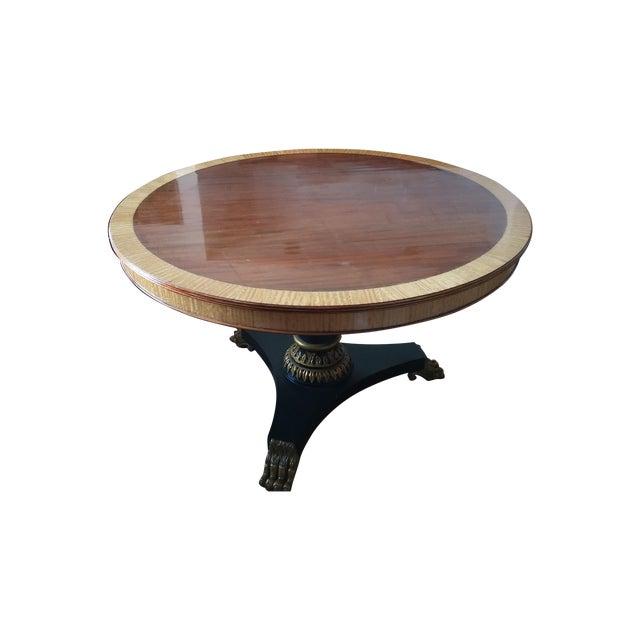 Image of Walnut Inlay & Claw Foot DiningTable