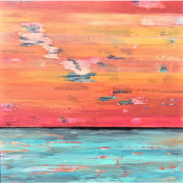 Original Contemporary Abstract Painting - Image 1 of 4