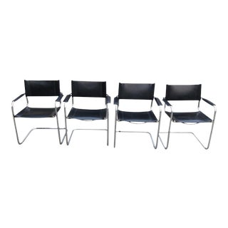 Mart Stam for Gordon Cantilever Arm Chairs - Set of 4