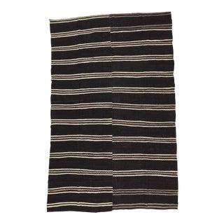 Vintage Striped Turkish Kilim Rug - 8′9″ × 13′11″
