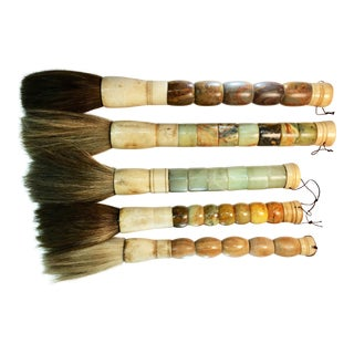 Horsehair Caligraphy Brushes - Set of 5