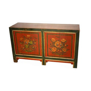 1900 Antique Mongolian Sideboard