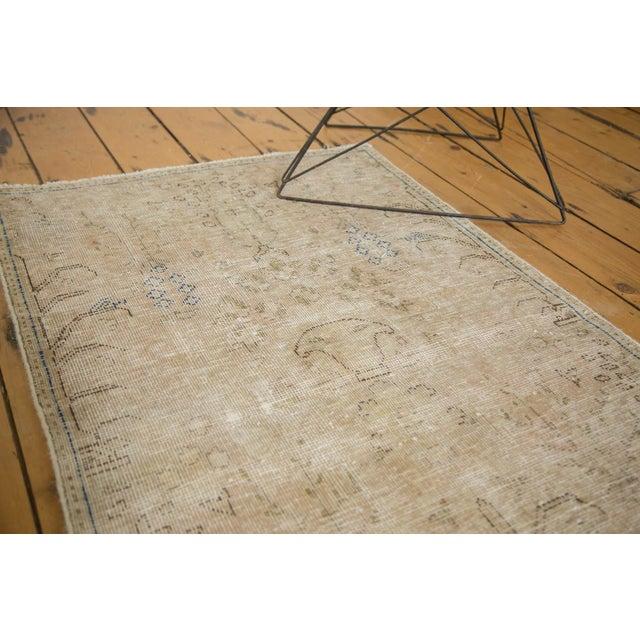 "Vintage Distressed Meshed Rug - 2'5"" X 4'3"" - Image 7 of 10"
