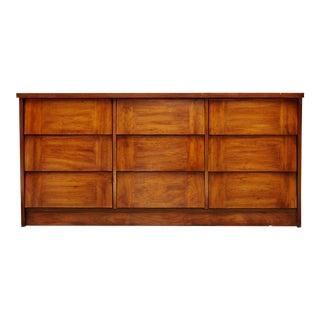 Modern Nine Drawer Low Boy Dresser