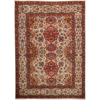 """Traditional Hand Knotted Area Rug - 5'8"""" X 7'9"""""""