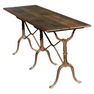 Late 19th Century French Country Baker's Table