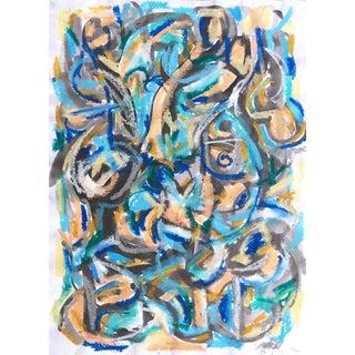 Female Male Blue Black II by Heidi Lanino