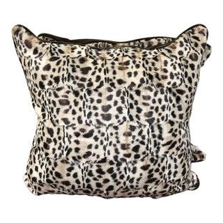 Designer Kravet Couture Faux Fur Pillows - A Pair