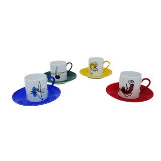 Joan Miró Espresso Cup & Saucer Set - 4