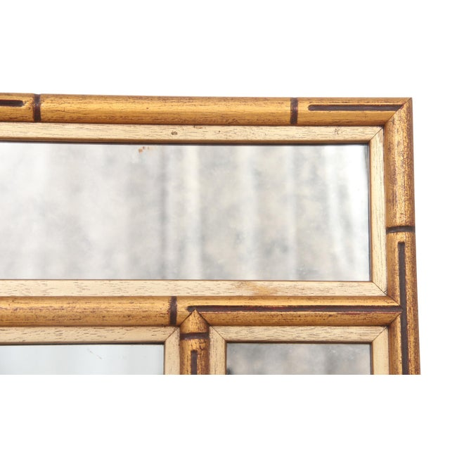 Faux Bamboo Chinoiserie Mirror - Image 6 of 7