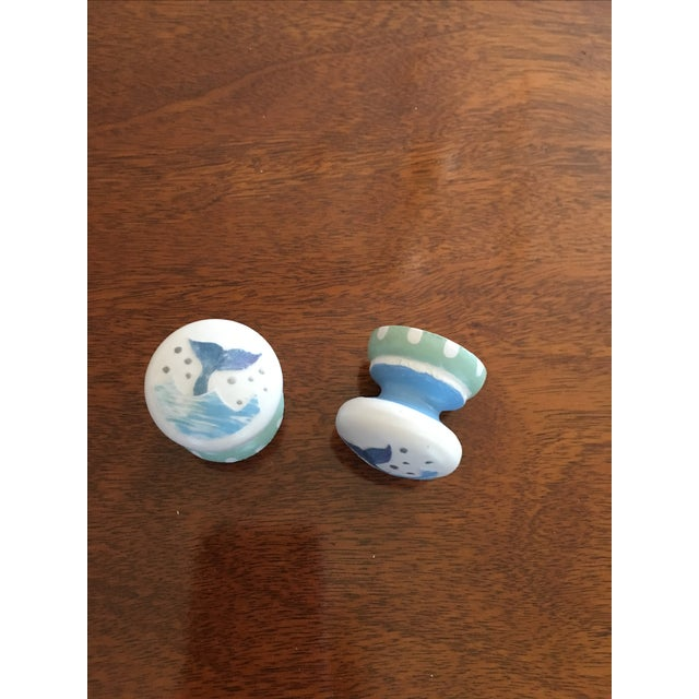 Image of Whale Tail Cabinet Knobs - A Pair