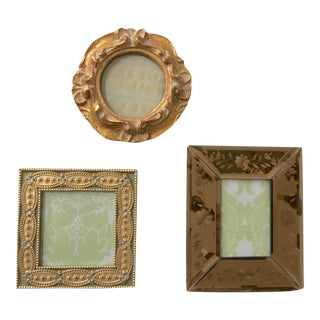 Vintage Picture Frames - Set of 3