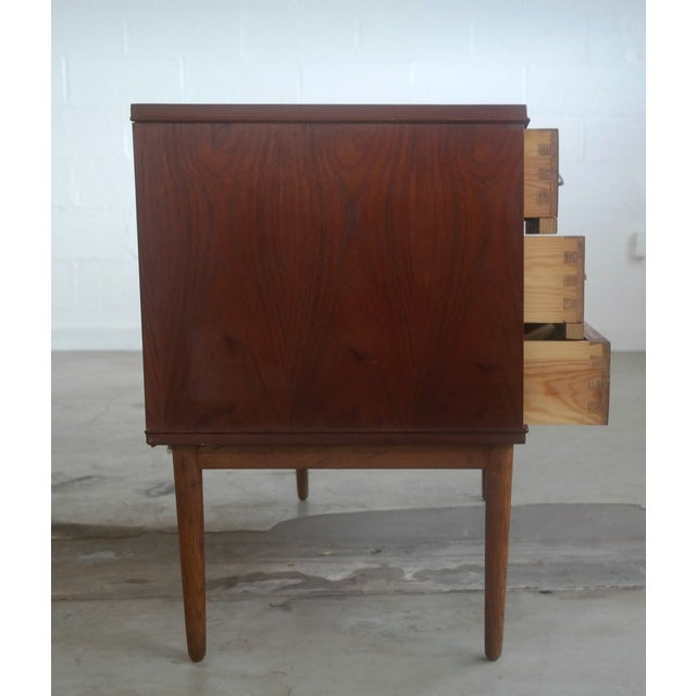 Danish Teak Cabinet with Drawers - Image 4 of 5