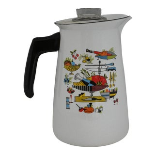 Enamelware Stove Top Percolator