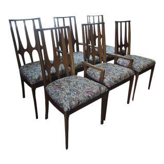 Broyhill Brasilia Mid-Century Dining Chairs - Set of 6